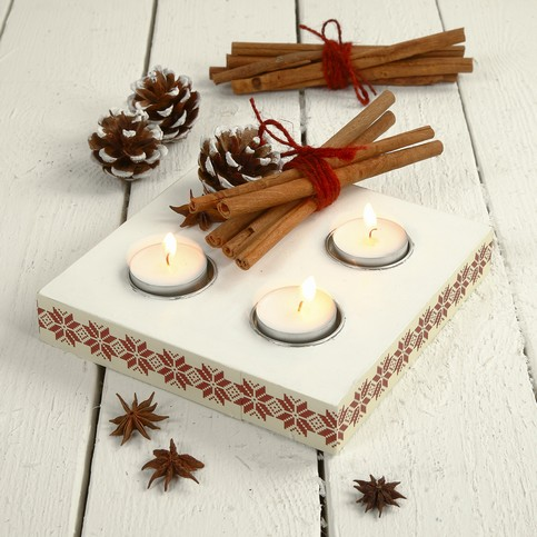 MDF Candle - Tealight Holders