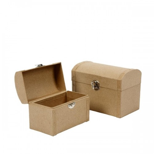 Papier Mache Cardboard Boxes & Items