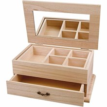 Plain Wooden / MDF Jewellery Boxes