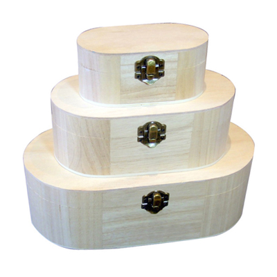 Round & Oval Shaped Boxes