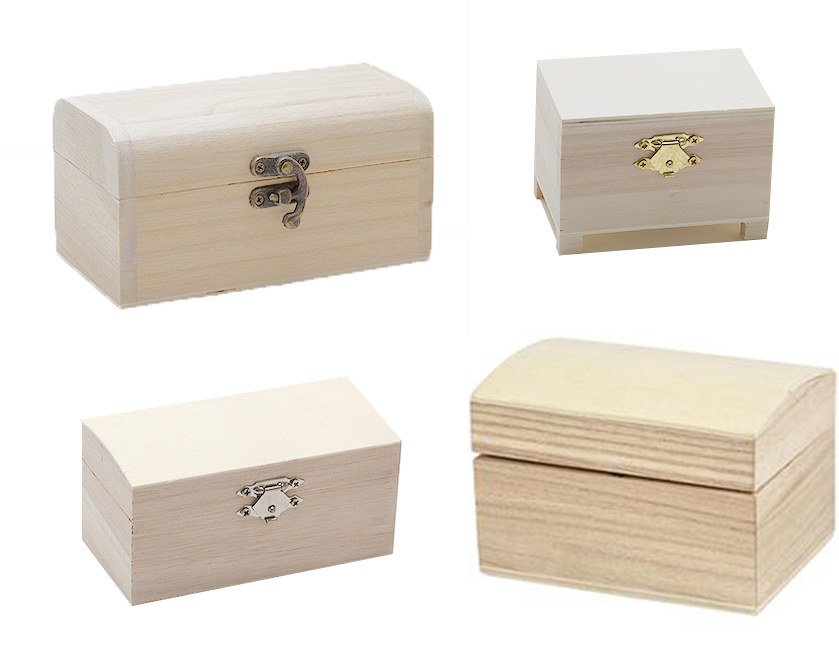 Wooden Treasure / Pirate Chests