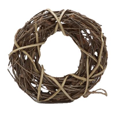 Wooden & Wicker Wreaths Rings Garlands