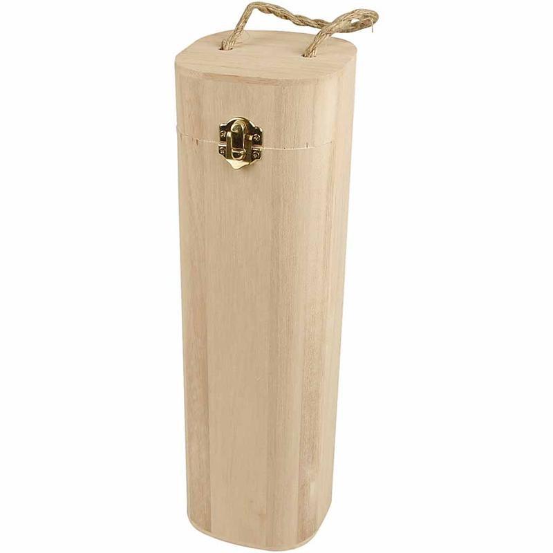 Plain Wooden Wine Boxes