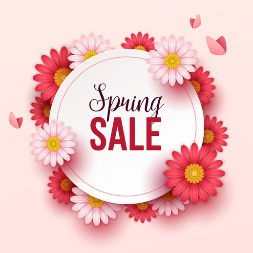 Spring Clearance & Sale
