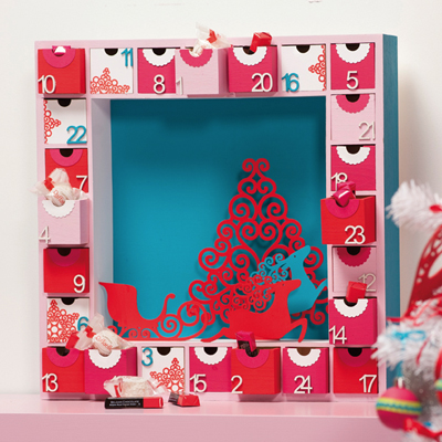 Plain Wooden Advent Calendars