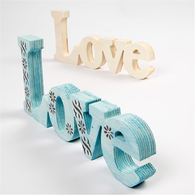 3D Wood & MDF Words / Letters & Numbers