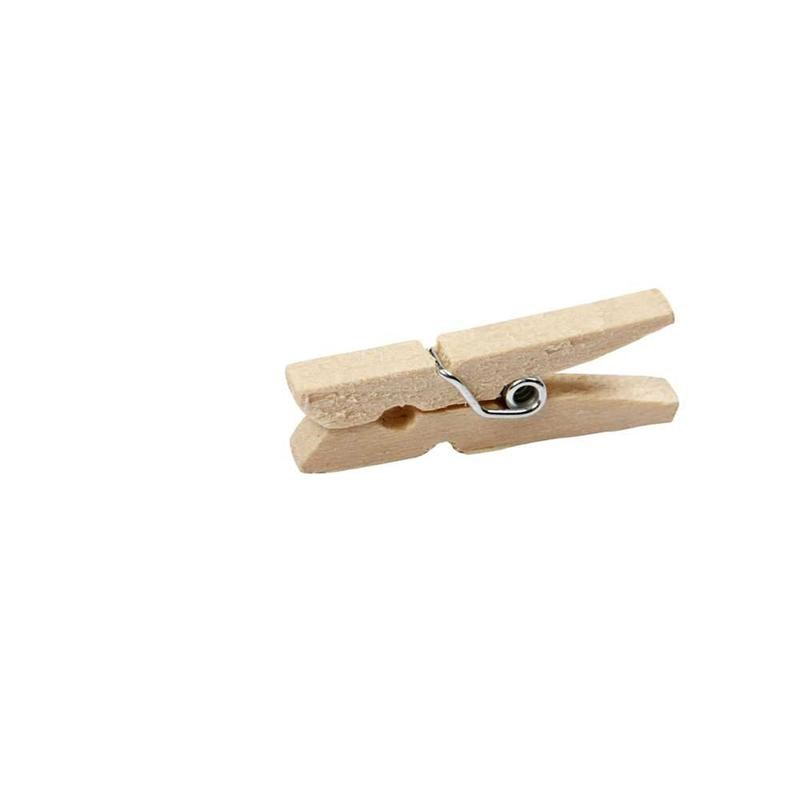Plain Wooden Wood Craft Pegs