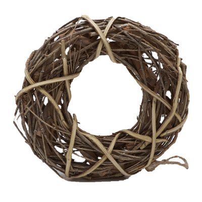 Wooden & Wicker Wreaths Rings Garlands