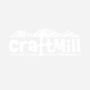 Chunky Solid Wooden 25cm Plain Wooden Clock